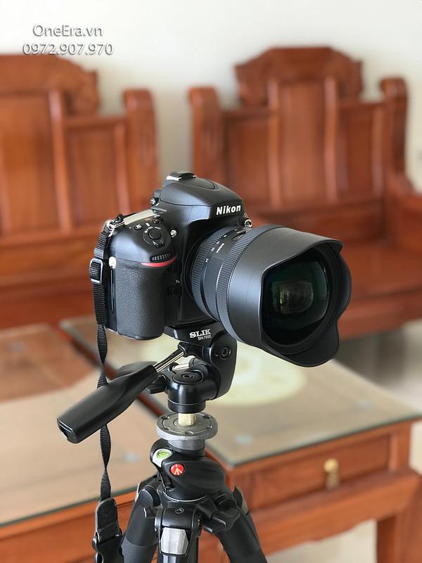 Nikon D800 + Lens Sigma 12-24 F4 Art Ultra Wide góc rộng để chụp ảnh căn hộ