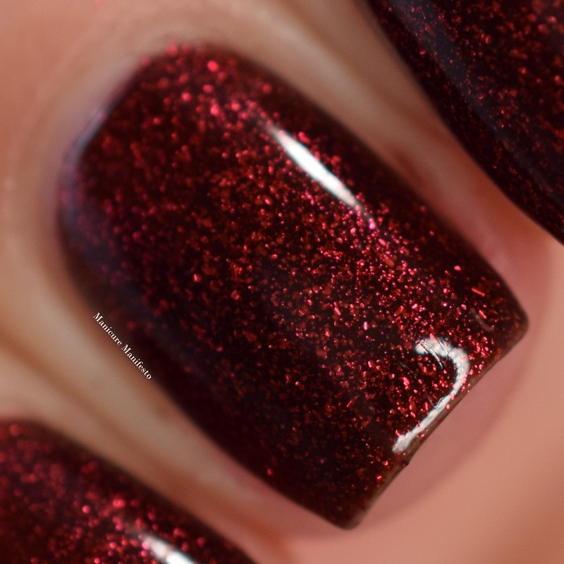 Girly Bits Red Velvet swatch