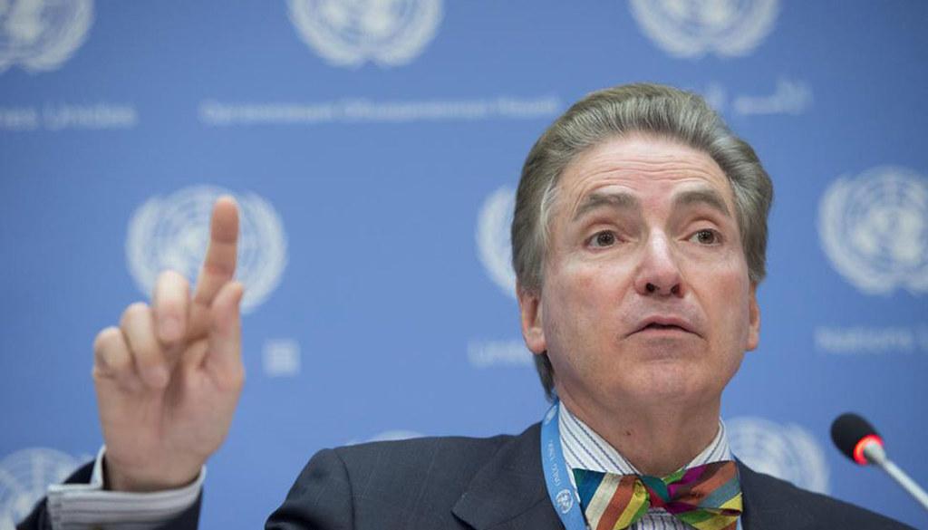 聯合國人權理事會獨立專家薩亞斯。(圖片來源:聯合國人權事務高級專員辦事處)