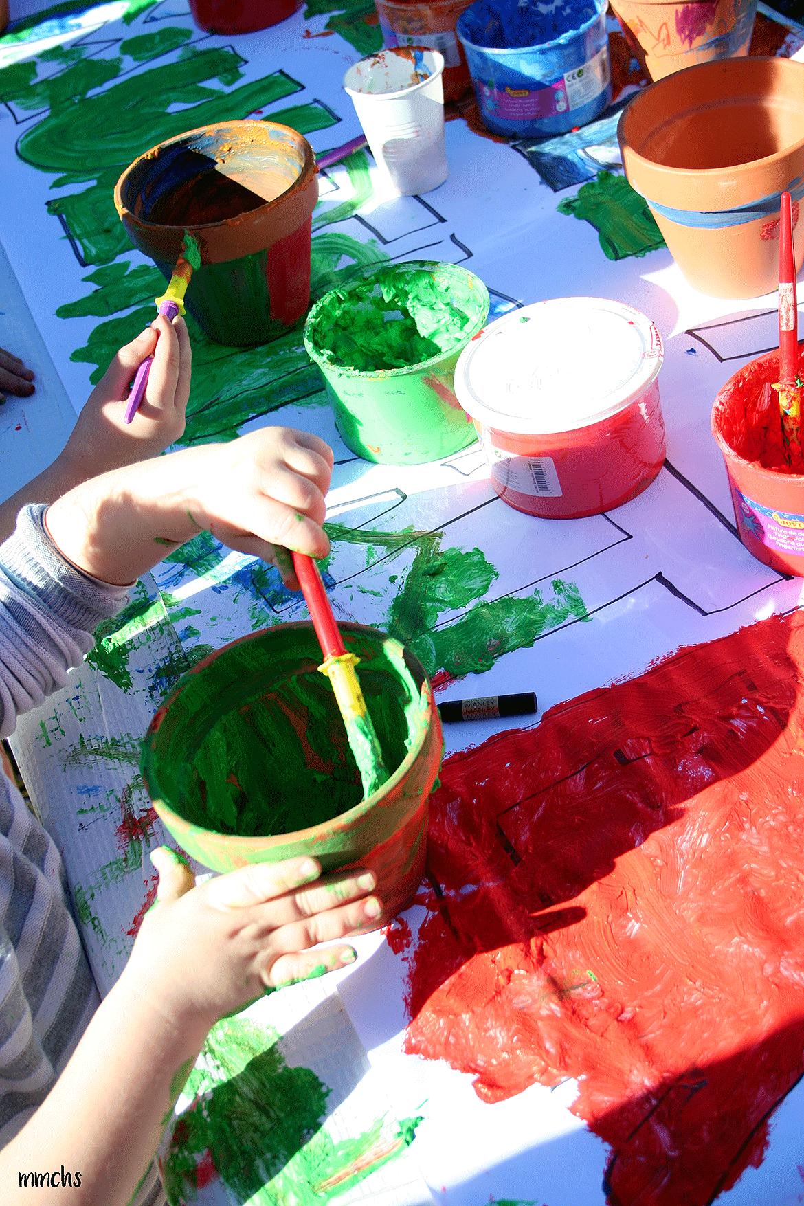 taller de pintura para niños en Paterna