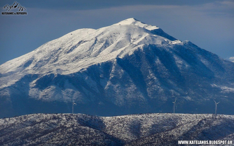 μπουμιστος ξηρομερο βουνο ακαρνανικά όρη χιόνια