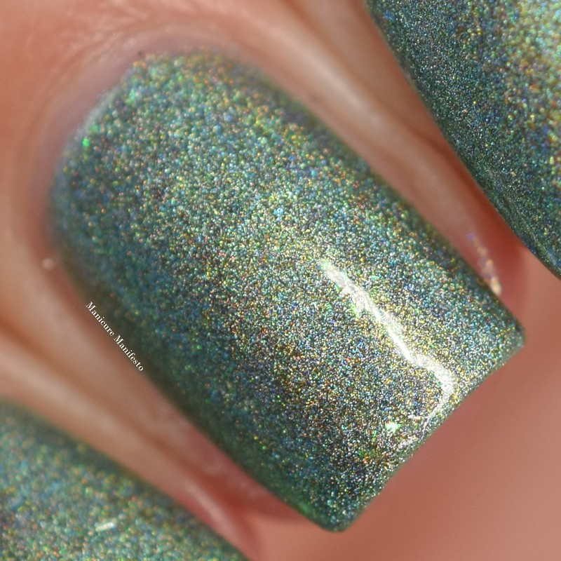 Girly Bits Things Get Better With Sage swatch