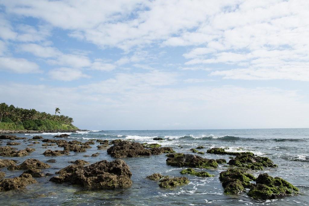 基翬海岸是東台灣第二大珊瑚礁區域。圖片來源:台灣環境資訊協會。