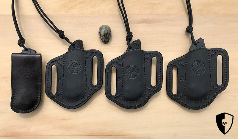 Custom GOBBI X Wicek Leather Benchmade Leather Sheaths