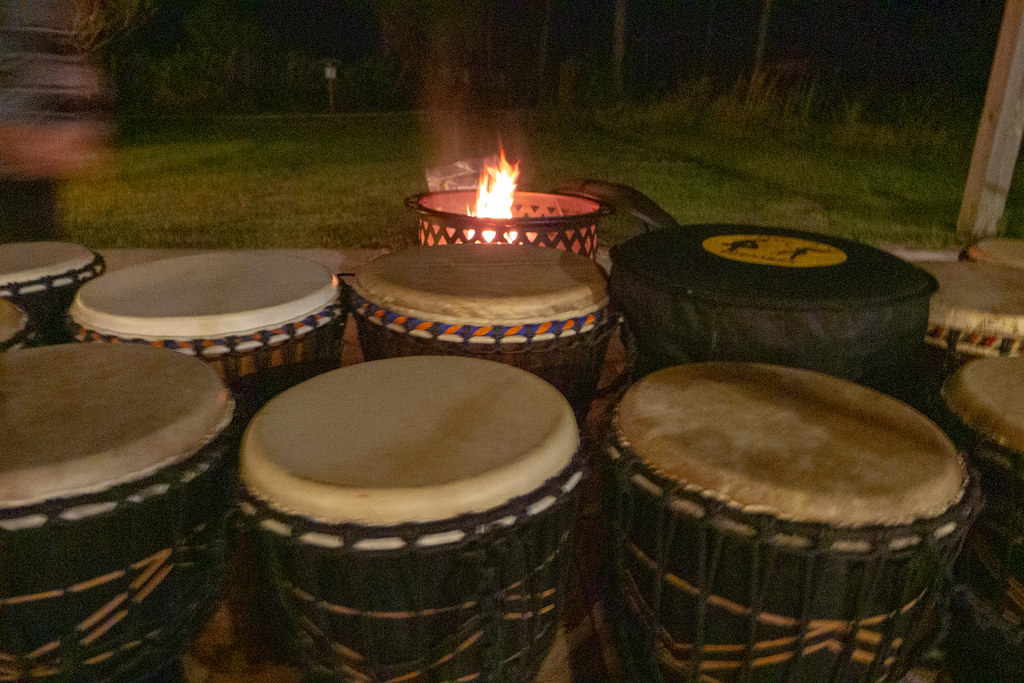 Winter Solstice Full Moon Drum Circle