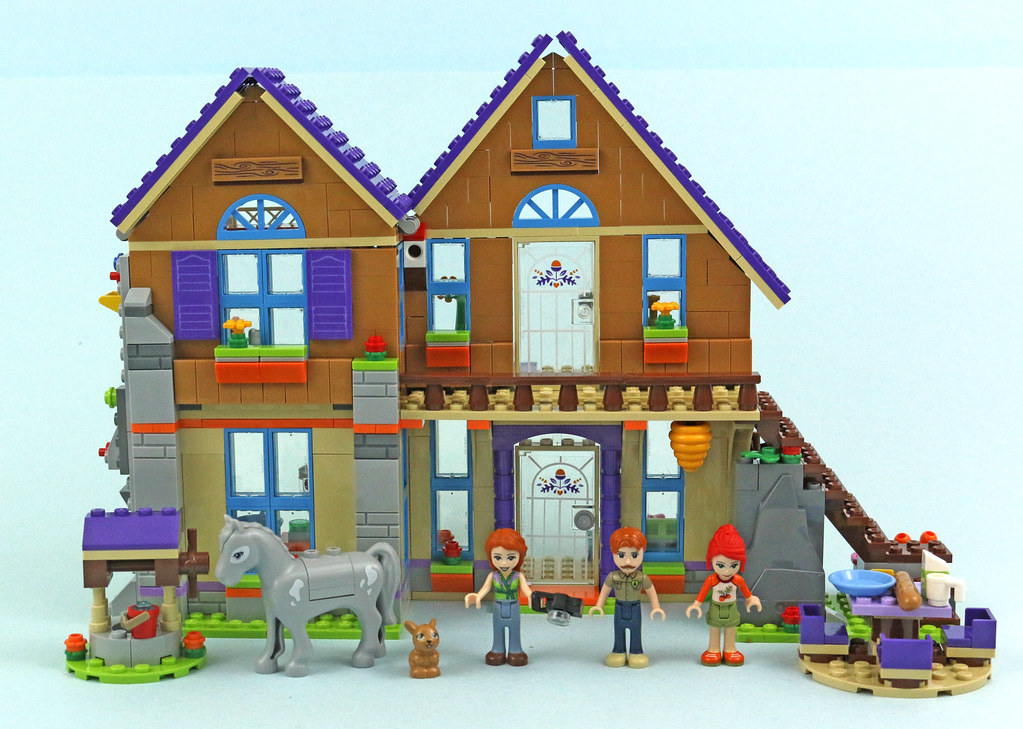 Lego Friends 41369 Mias House Review Brickset Lego Set Guide And