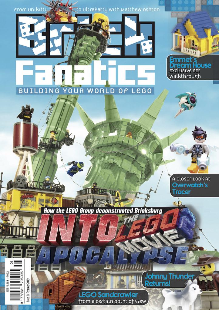 Inside Brick Fanatics Magazine Issue 2 | Brickset: LEGO set guide