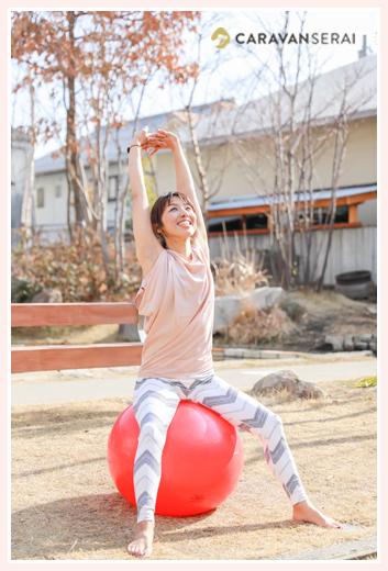 東むつき様 バランスボール・体力メンテナンスインストラクター プロフィール写真