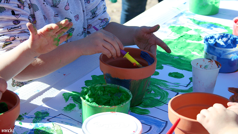 taller de pintura para niños Paterna