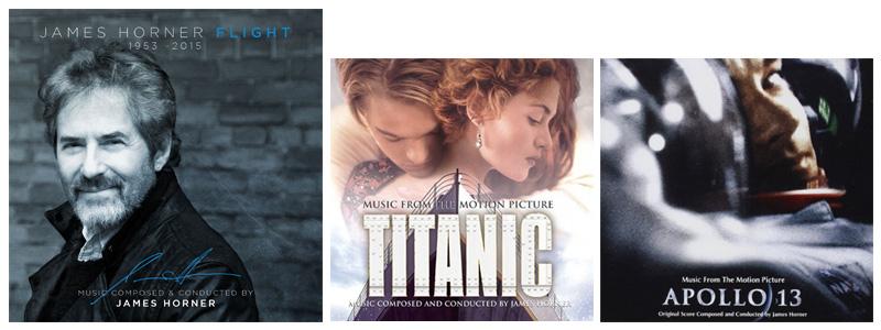 圖說:James Horner、鐵達尼號與阿波羅13號電影原聲帶封面 電影配樂與我的生活 電影配樂與我的生活 32736307018 eac38264ce o