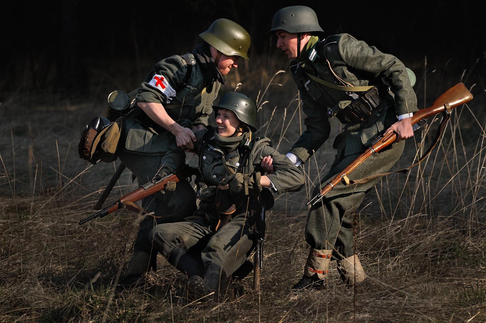 фотограф Челябинск - военная форма германия вторая мировая война реконструкция