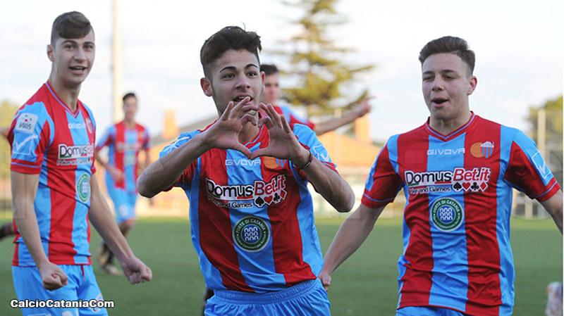 Ciccio Strano, primo gol stagionale nel giorno del 18° compleanno