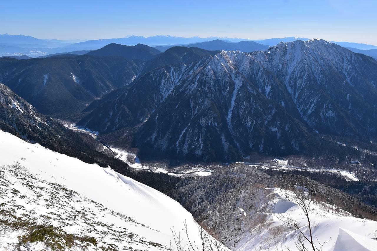 冬の上高地