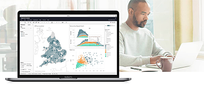 See, Manage and Ask Data in new Tableau release. Image credit: Tableau Software.
