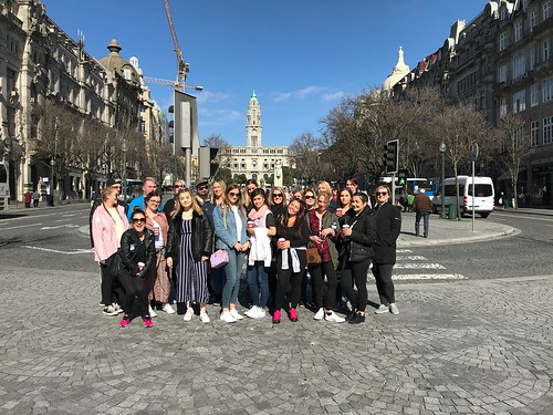 Learners from West Lothian College in Portugal