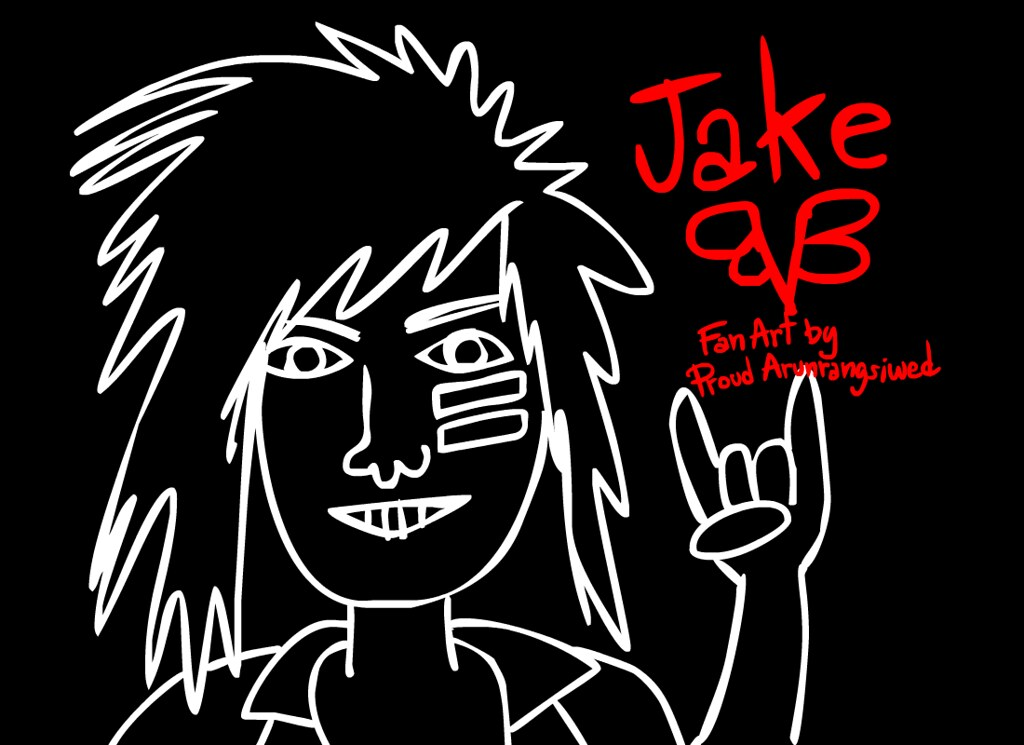 Jake Black Viel Brides Fan Art