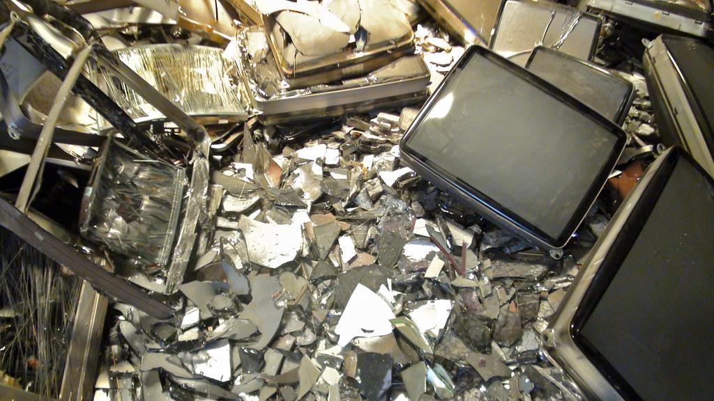 中國的電子廢棄物。圖片來源:baselactionnetwork(CC BY-ND 2.0)