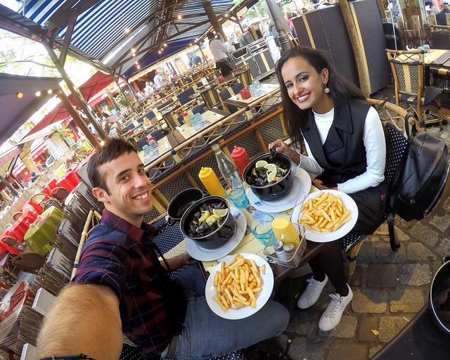 Uno de los mejores restaurantes donde comer en el Barrio de Montmartre
