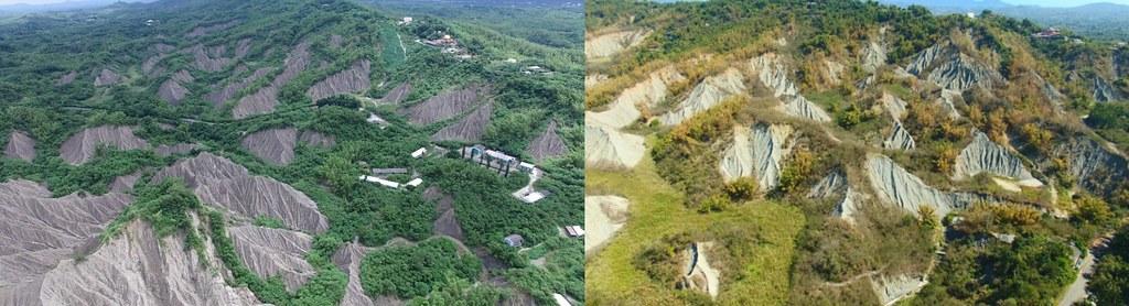 被選為南區事業廢棄物綜合處理中心的原龍崎炸藥工廠空照圖。