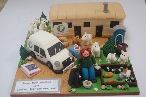 Equestrian Assisted Learning Cake
