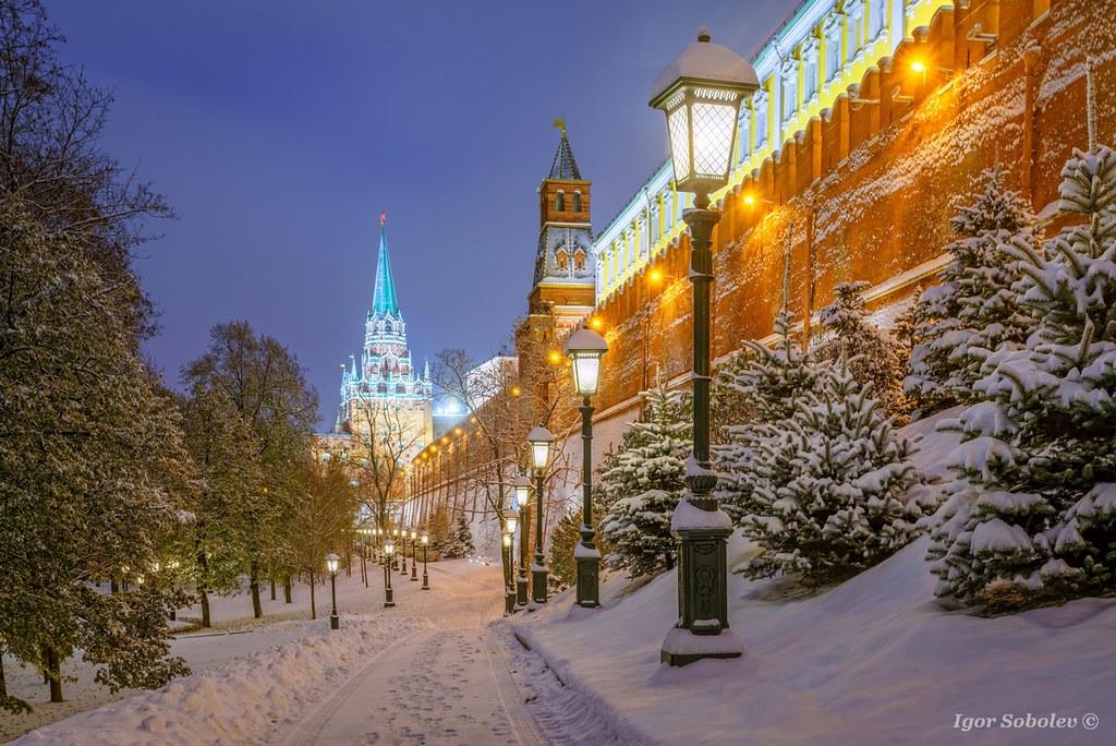 У Кремлевской стены