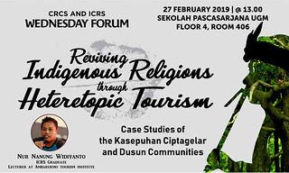 Reviving Indigenous Religions through Heterotopic Tourism