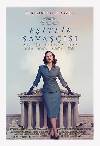 Eşitlik Savaşçısı - On The Basis of Sex (2018)