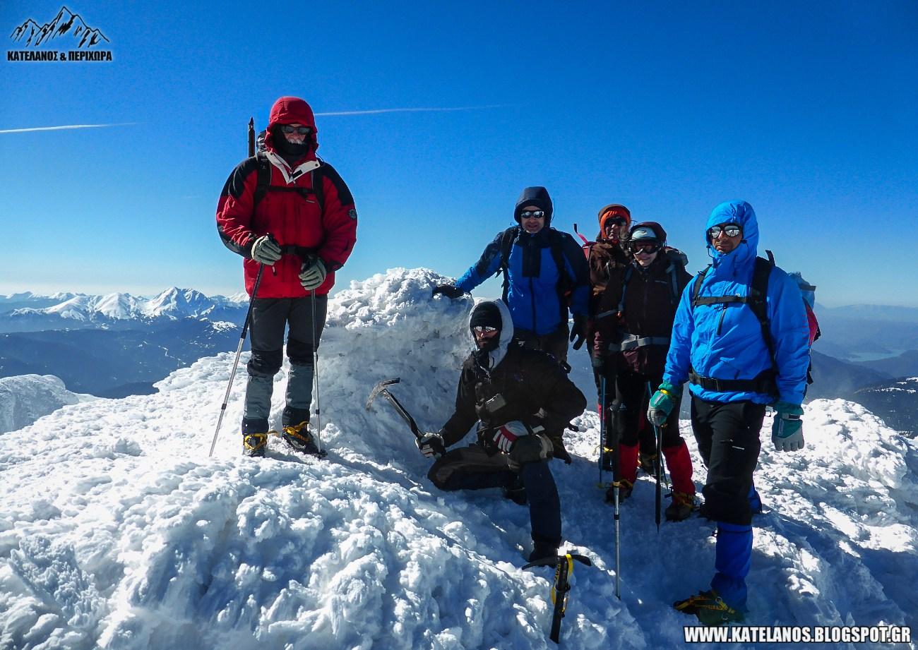 ορειβατικος συλλογος αγρινιου χειμερινη αναβαση βελουχι