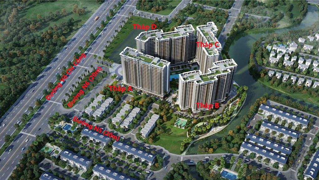 Các block dự án Safira Khang Điền
