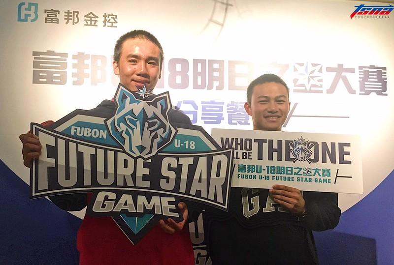 (圖左)平鎮高中投手李晨薰、徐若熙。(行大昀/攝)