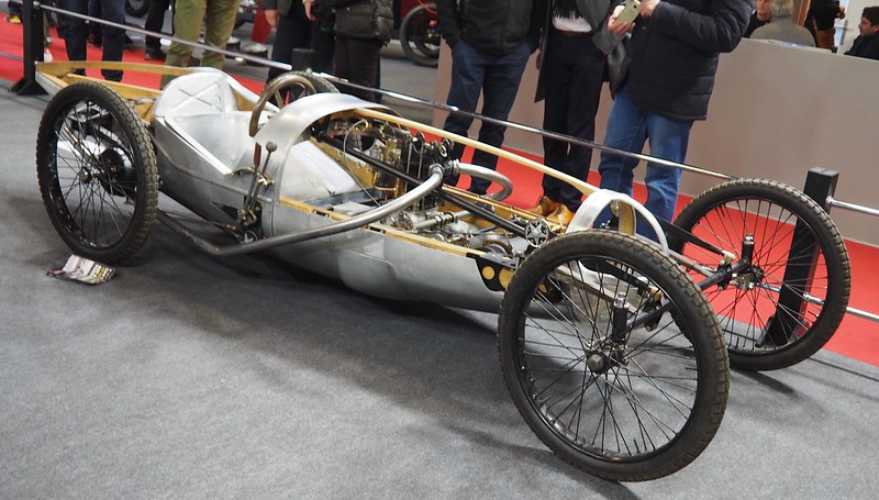 Jappic Racing Cyclecar Brooklands Single Seater Racing 350cc (recréation) 32097364907_cb41254993_c