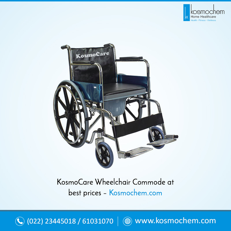 9d599ef12ba KosmoCare wheelchair commode at best prices – Kosmoc.