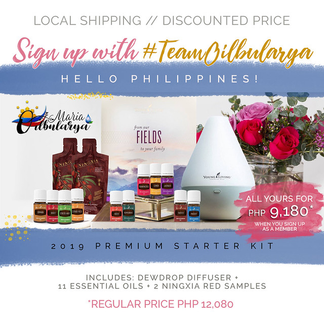 Young Living Philippines Premium Starter Kit