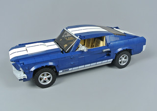 LEGO 10265 Creator Expert 1960/'s Ford Mustang American Super Charger Muscle Car