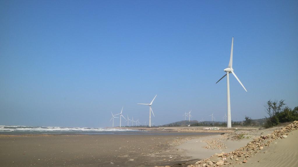 白沙屯的陸域風機