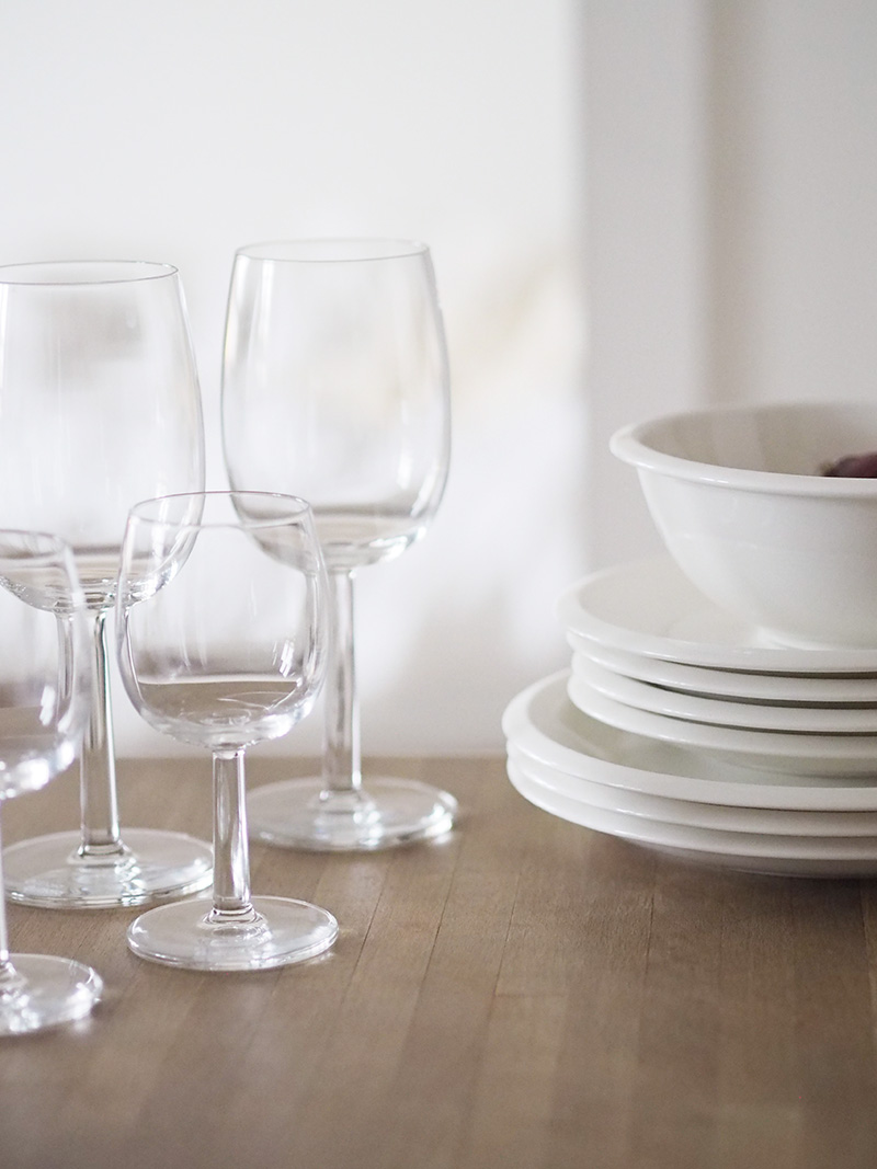 Raami-astiasarja viinilasit
