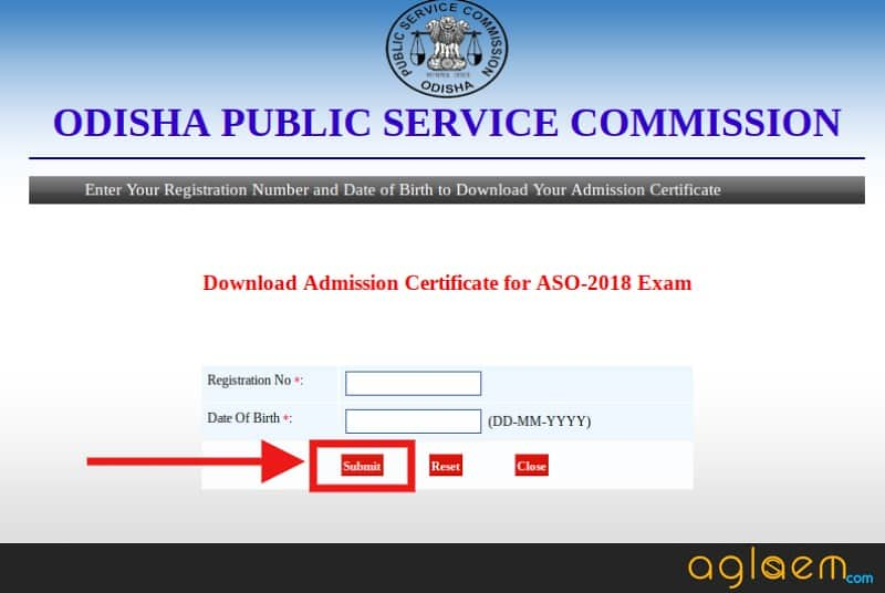 OPSC ASO Admit Card 2018 (Released) - Download Here Assistant Section Officers Admit Card 2018