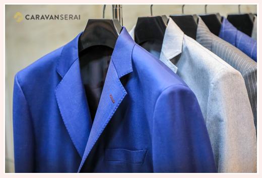 オートクチュールドライ千種 スーツのジャケットの仕上げは見事!