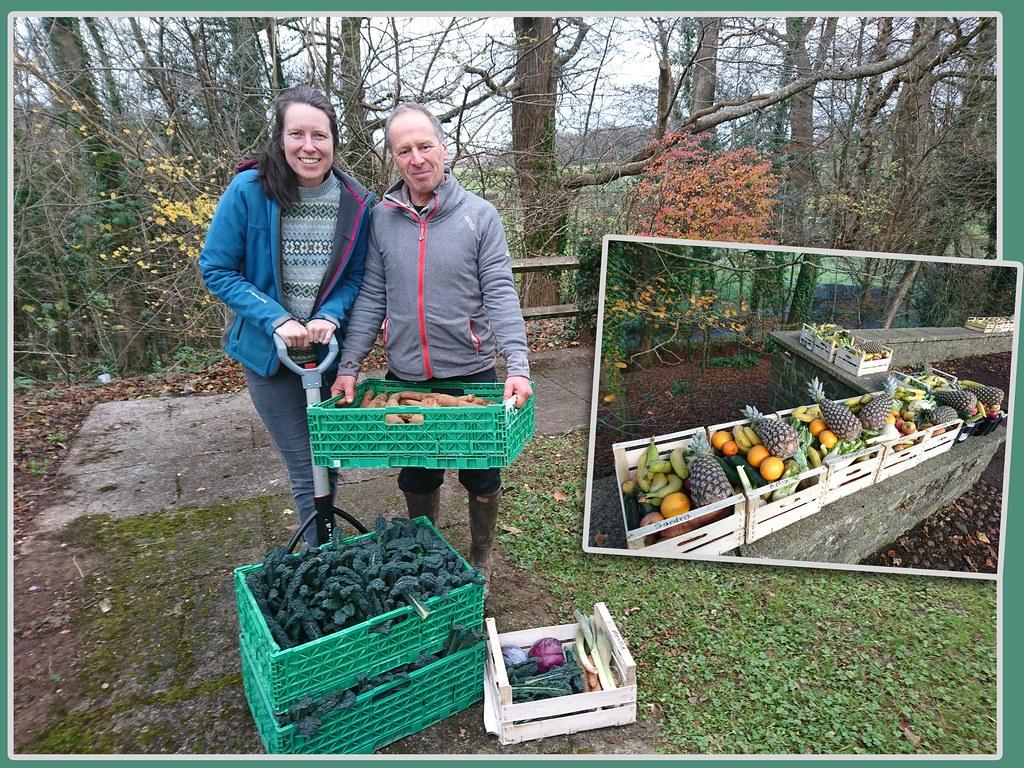 Food in Community的主理人Chantelle(左)和David