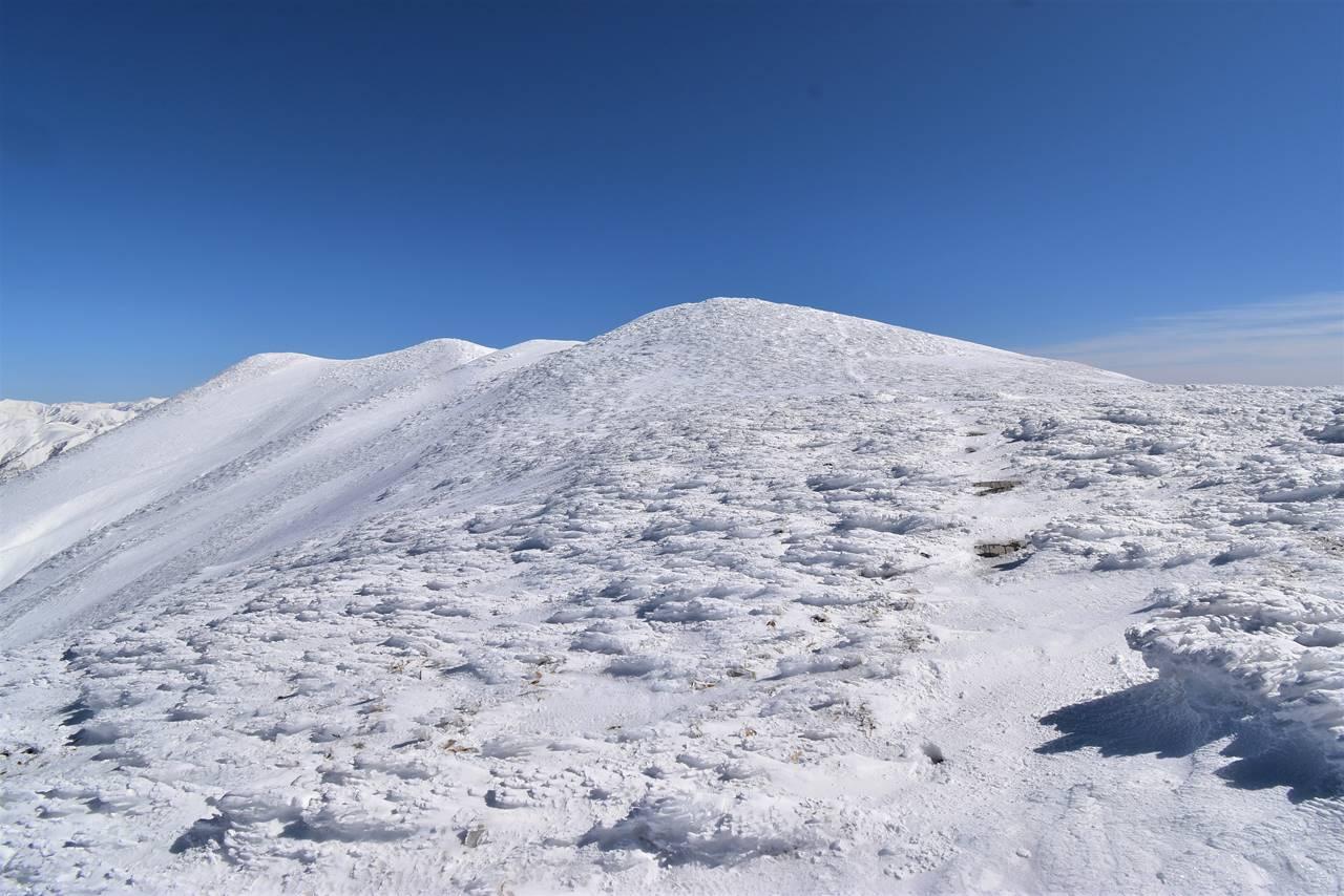仙ノ倉山 雪の稜線