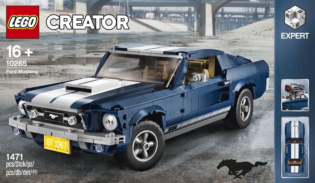 Lego Creator Expert 10265 Ford Mustang Review Brickset Lego Set