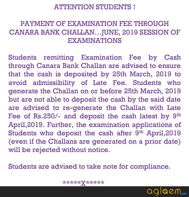 CS Executive June 2019 Application Form (Available) - Date, Fee, How to Apply