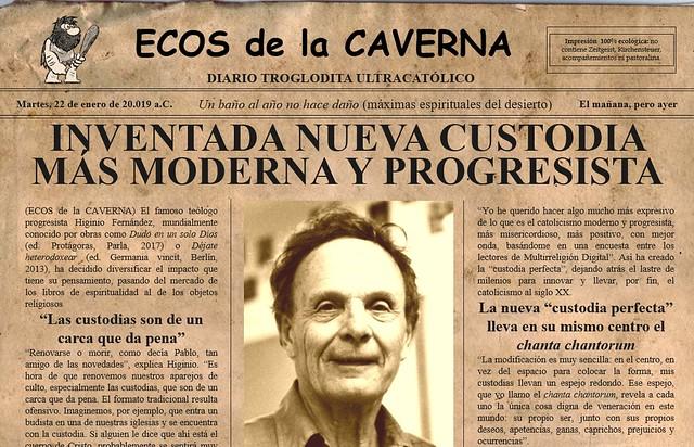 Más Custodia Progresista Y Nueva Inventada Moderna NO80mnwv