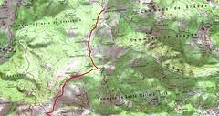 Carte Guadalone - Bocca di Santa Maria au Cap Corse