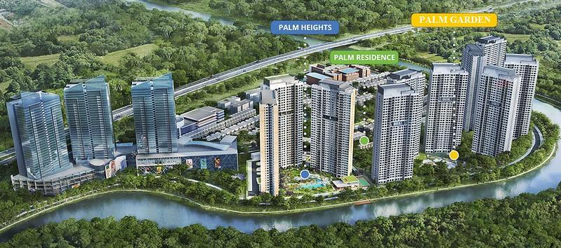 tổng quan dự án căn hộ Palm Garden