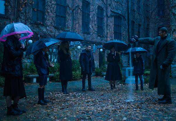 Where is Umbrella Academy filmed