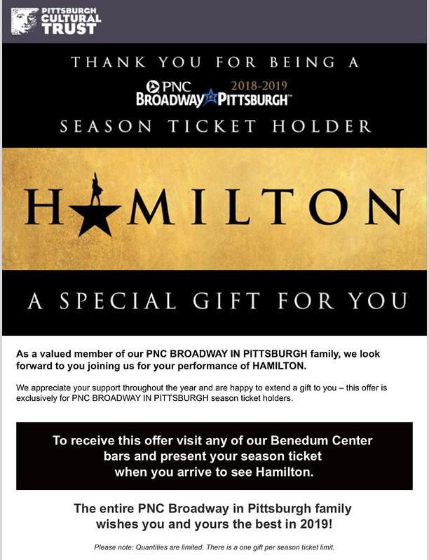 HAMILTON National Tour