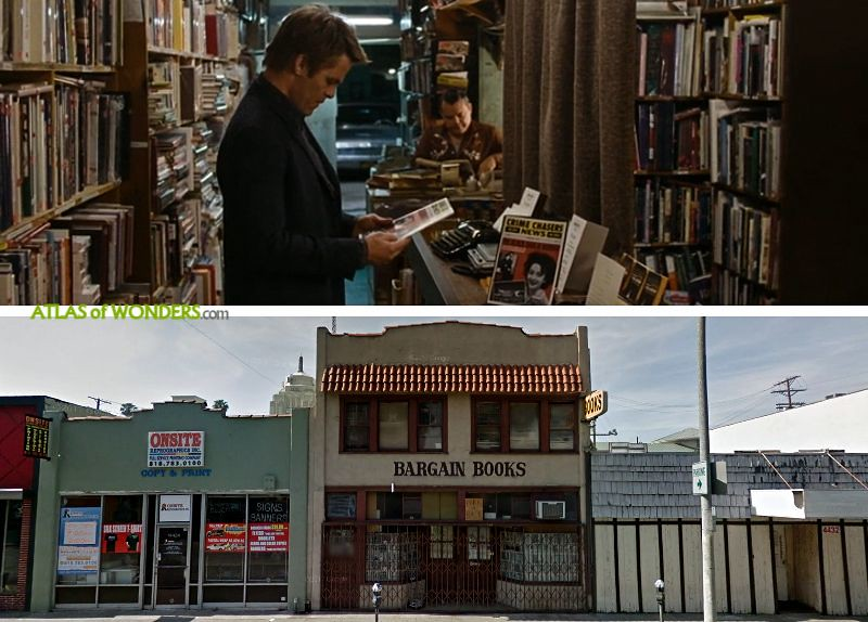 bookshop sequence