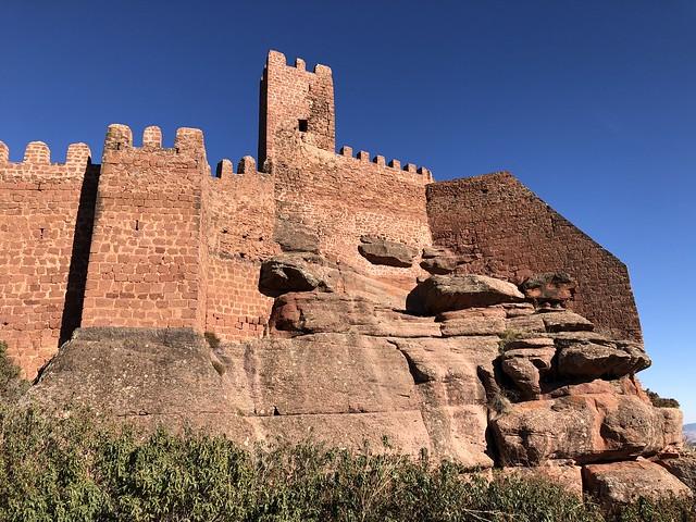 Castillo de Peracense (Territorio Jiloca Gallocanta en Aragón)
