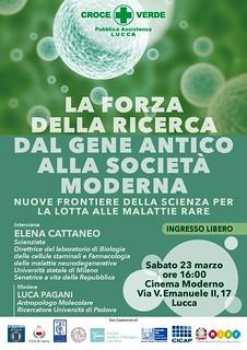 E_Cattaneo a Lucca malattie genetiche rare